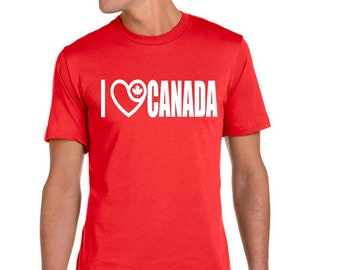 a2e5aedc Canada day T-shirt decals t-shirt / 5 designs to choose / Personalized gift  t-shirt / size XS up to 6XL / youth or men or women sizes