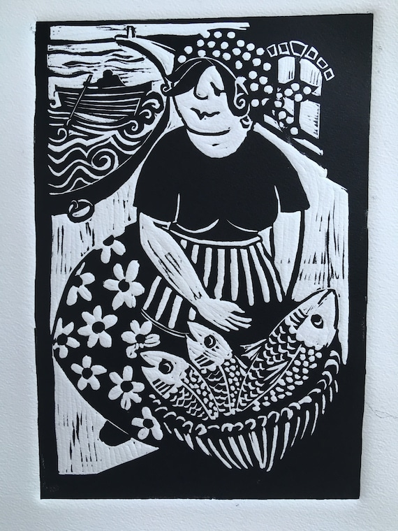 Girl in the Sea Limited Edition Print edition of 50