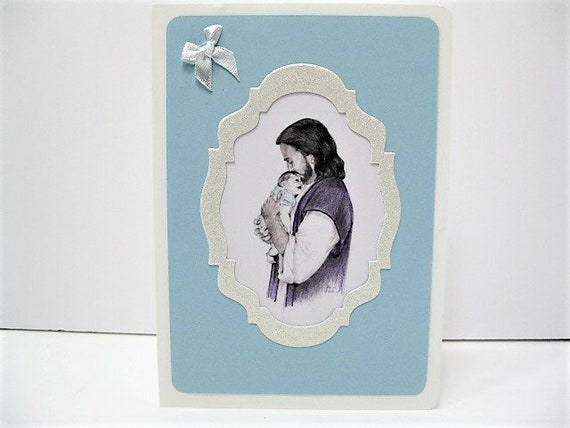 Infant Loss Infant Sympathy Card Loss Of Infant Boy Loss Of Baby Boy Jesus Holding Baby Boy