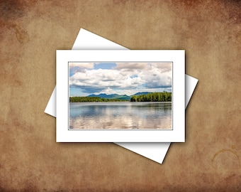 Greeting Cards, Landscape Photography, Summer in Maine