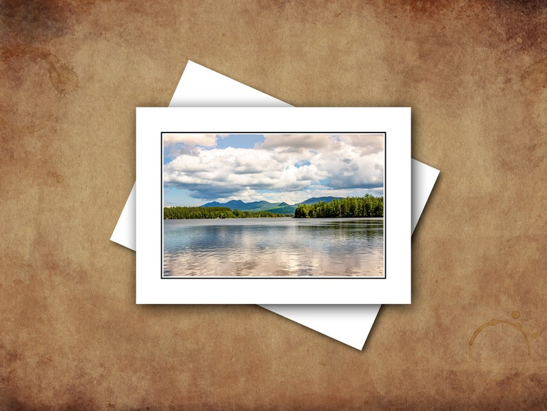 Scenes of Summer in Maine Landscape Photography Greeting Cards image 0