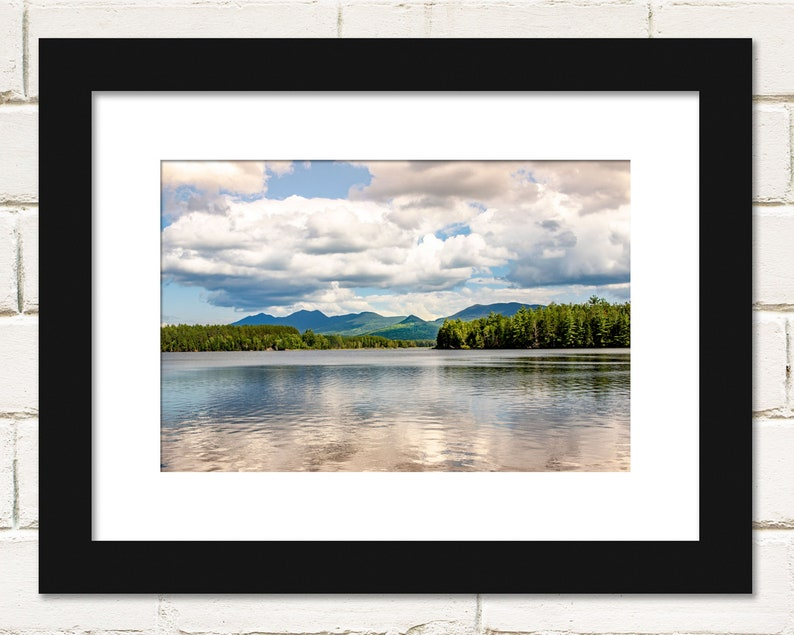 Flagstaff Lake Photography Prints Scenic Maine Lakes and image 0