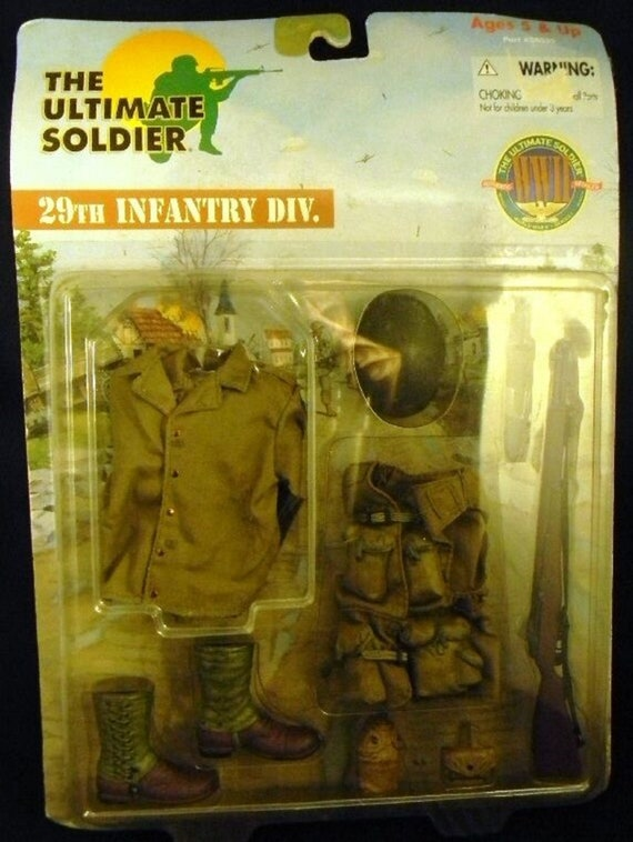 \u00a91999 21st Century Toys The Ultimate Soldier 29th Infantry Div