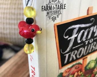 Bird Beaded Bookmark