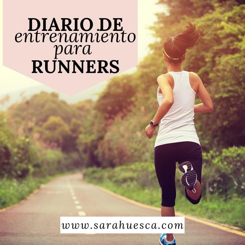 Diario/planificador/entremaniento/runners/cardio/musculación/c image 0