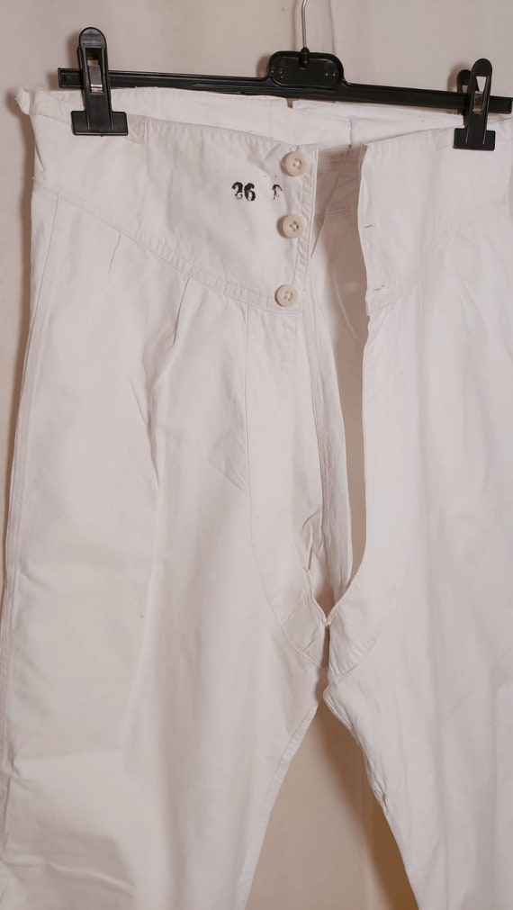 French workwear antique underpants long johns