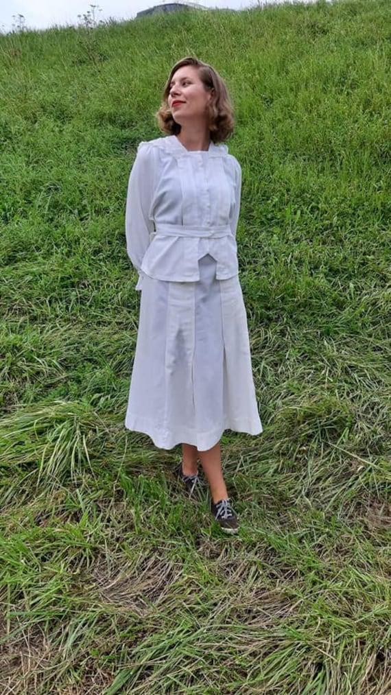 Rare Edwardian summer suit