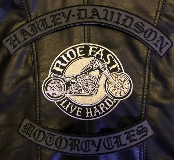 POW MIA I RIDE FOR THOSE WHO CAN/'T BIKER  4 INCH PATCH