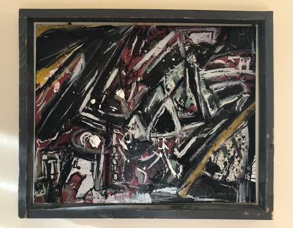 D-8: 18 X 22 Inches, Painting, Complementary Frame