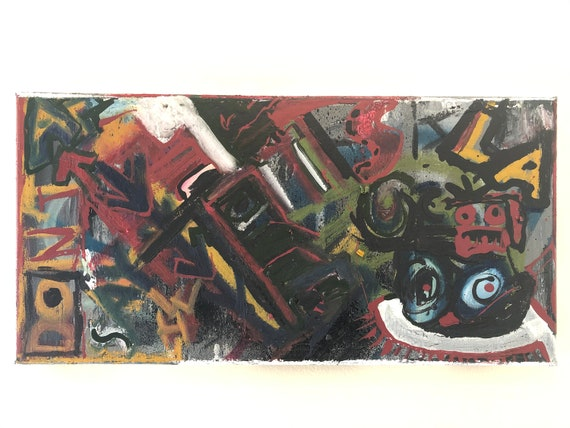 E-4 10 X 20 Inches, Painting