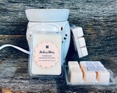 Set of 4 NonToxic All Natural Soy Wax Melts Soy Wax Tarts Handpoured Choose Scent