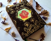 Floral grimoire - vegan, 400 pages, A5, hand-painted