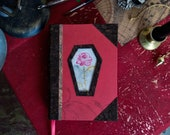 Rose Grimoire - Size A6, 400 pages, vegan and recycled materials