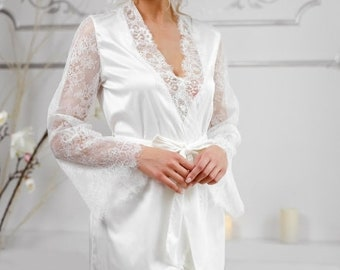 9217f83c6 Peignoir set silk