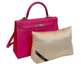 e14dae4340d8 Purse Pillow Insert Fits Hermes Kelly 35 Handbag Shaper for Closet Storage  - Champagne