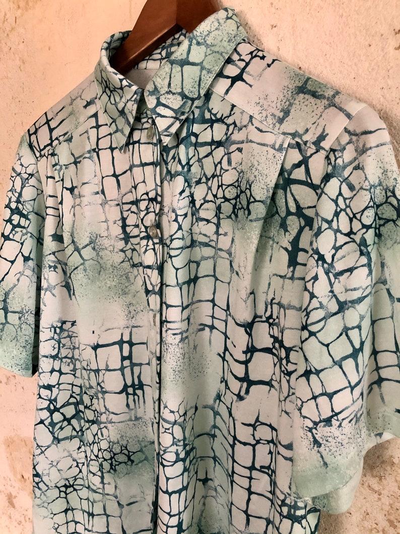 Beautiful vintage blouse boho 70s 80s