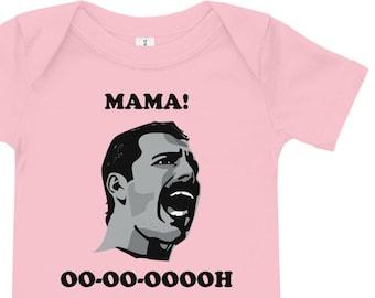 2827e8797b5 Freddie Mercury Baby Rompers   Toddler Tees