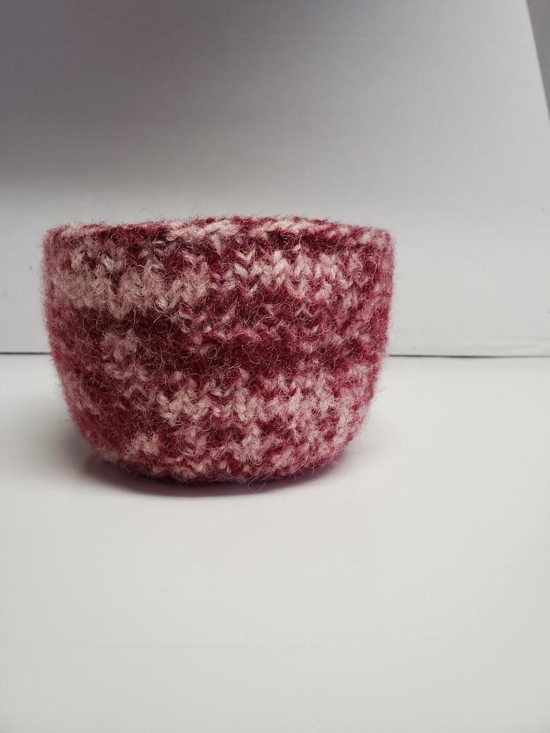 Wool Bowl Cranberrycreme