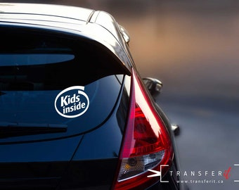 Personalised Child//Baby On Board Car Sign ~ Sons On Board ~ D.Blue