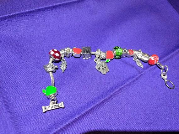 September Charm Bracelet