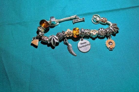 November Charm Bracelet