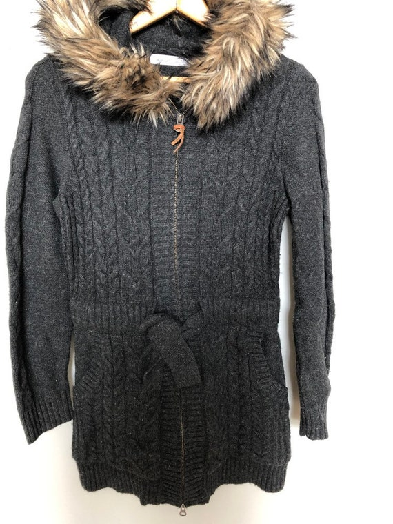 Vintage woolrich sweater jacket