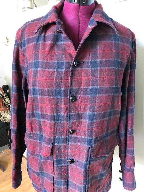 Pendleton wool shirt jacket