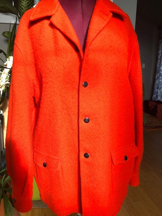 Vintage Hudson Bay wool coat