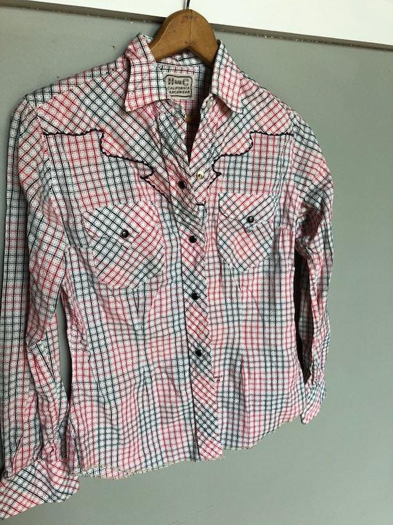 Vintage H Bar C Ranchwear shirt