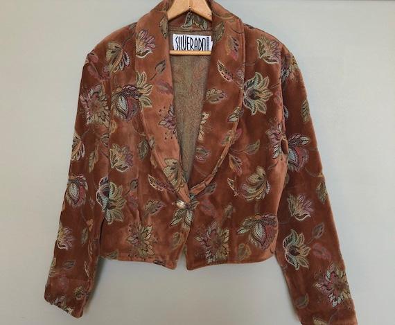 Gorgeous vintage tapestry jacket