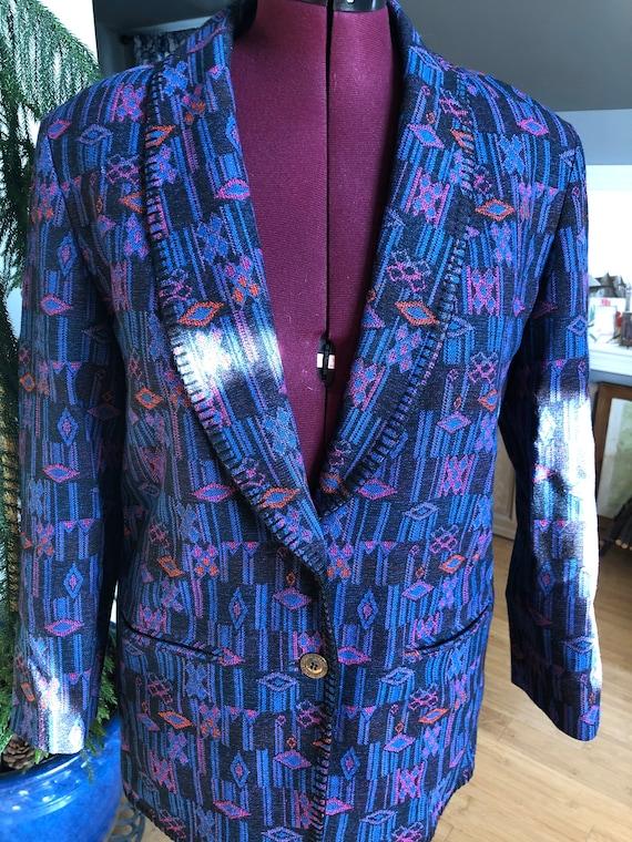 Vintage Pendleton blanket coat