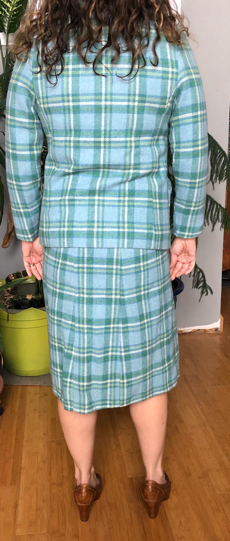 Gorgeous Pendleton skirt suit