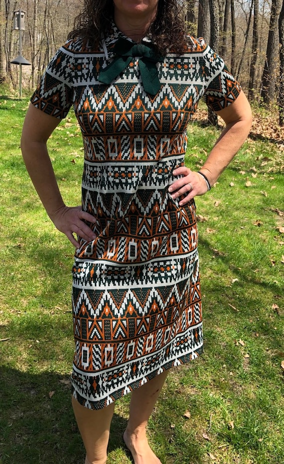 Groovy dress from 70's