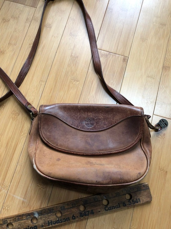 Vintage Timberland leather purse