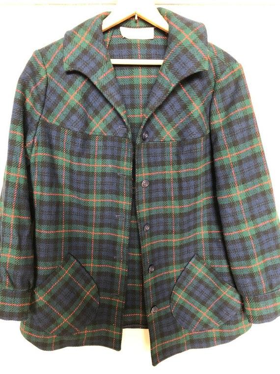 Vintage Pendleton shirt jacket
