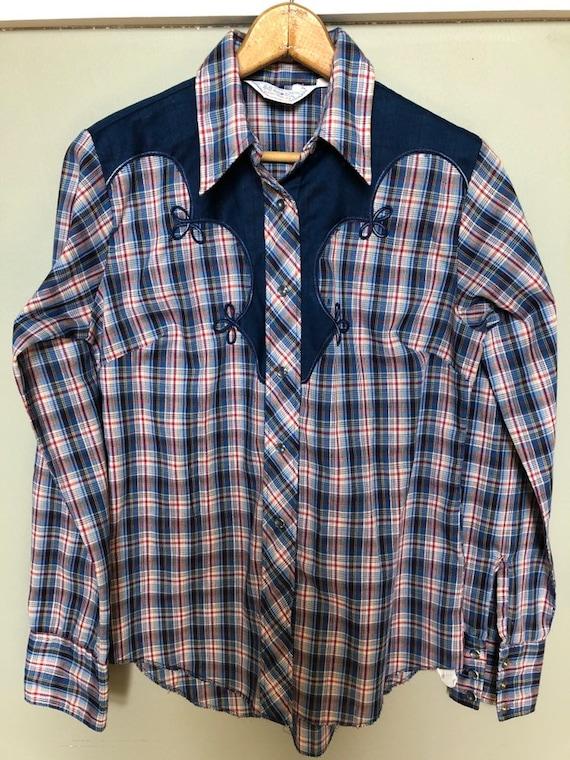 H Bar C ranchwear shirt