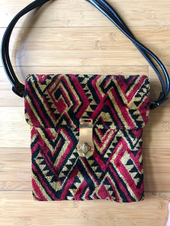 Carpet bag purse