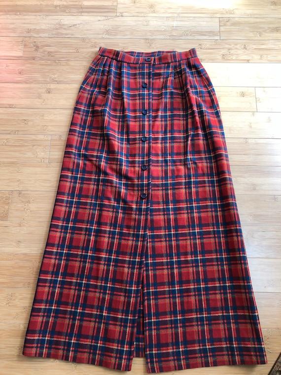 Vintage Pendleton Maxi skirt