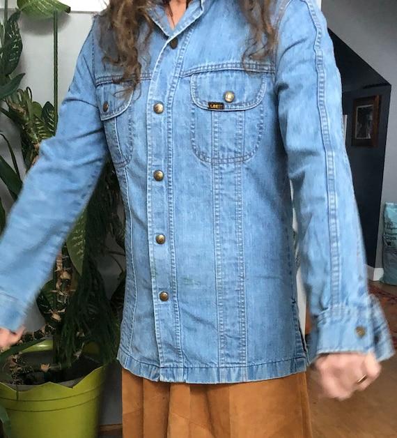Vintage Lee Denim Shirt Jacket
