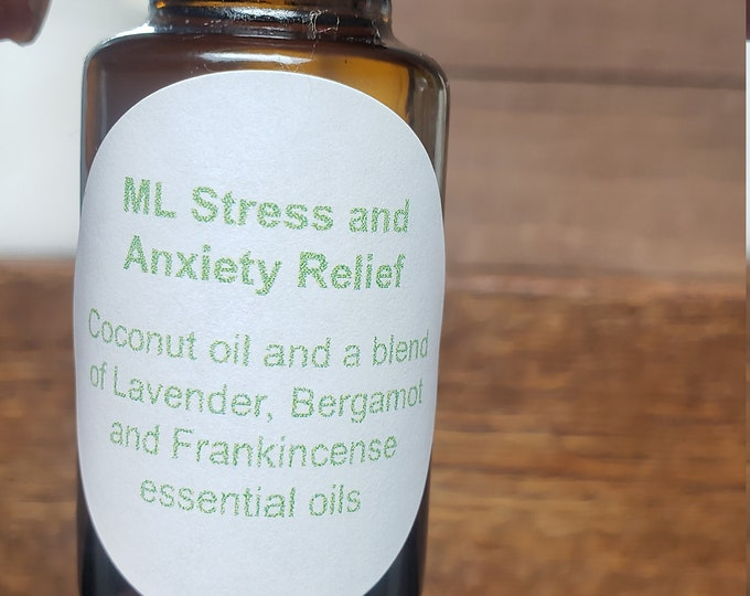 Essential Oils Roller Ball: Stress an Anxiety Relief