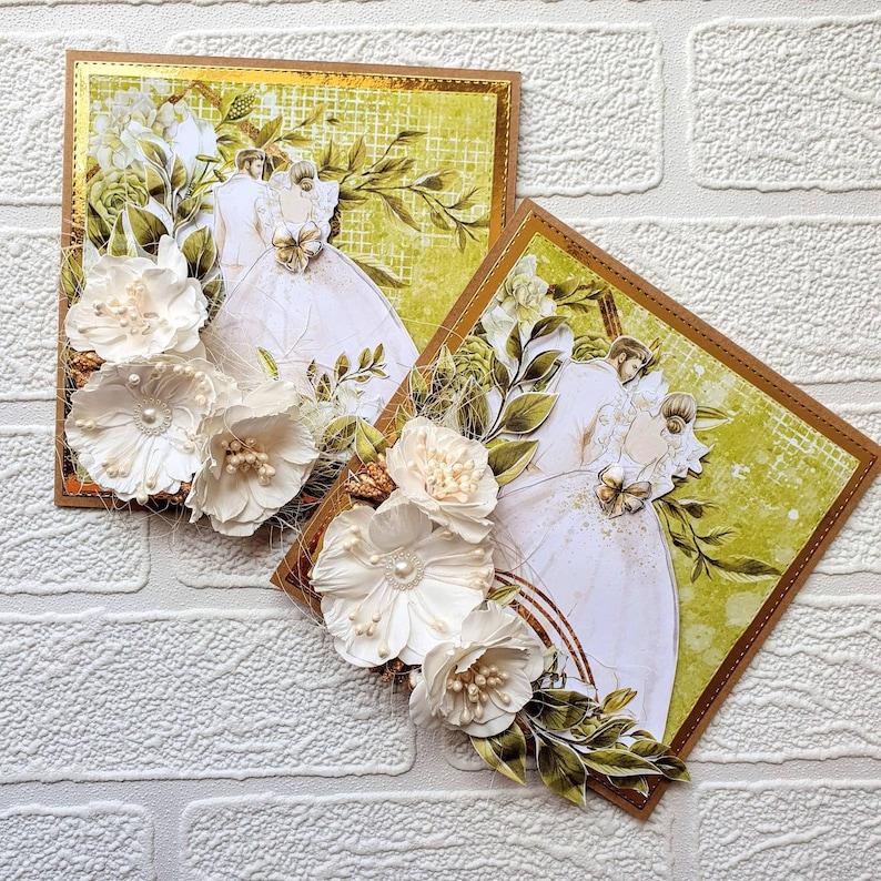 congratulations card congratulations on your wedding- rustic wedding card Wedding Card on your wedding card handmade wedding card