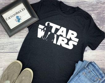 509c4bcfc Men's Star Wars T-Shirt, Men's T-Shirt, Men's Star Wars Shirt, Men's Tee,  Men's Fitted Tee
