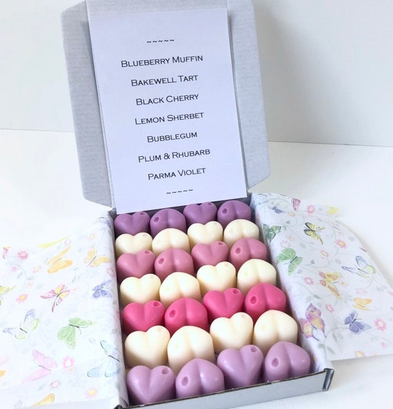 larger quantities also available 20 x Parma Violets Highly Fragranced 100/% Eco Soya Wax Melts