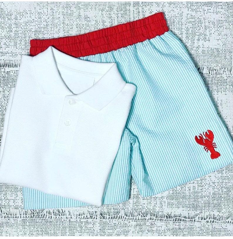 Summer dress Lobster design! Girls dress