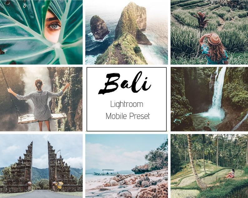 4 Mobile and Desktop Lightroom presets , Summer Mobile Bali preset,  Instagram preset, Best lightroom preset, for Photo Edit