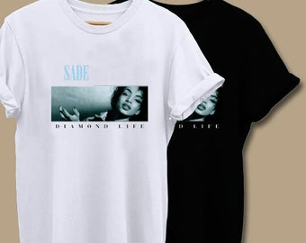 71827f66 Sade Diamond Life, Sade, Sade T Shirt, Sade Shirt, Tops and Tees, Unisex  Adult Clothing, Hypebeast, Street Wear