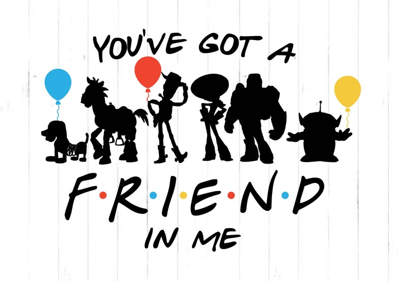 You've got a Friend in Me/ Disney Inspired Toy Story image 0