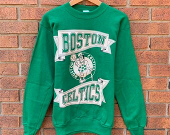 hot sale online 9a4af 4503d Boston celtics sweatshirt | Etsy