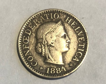 Other Canadian Coins Ef 1932 Swiss 1 Rappen