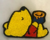 Winnie the Pooh Embroided Applique Patch -iron or sew on